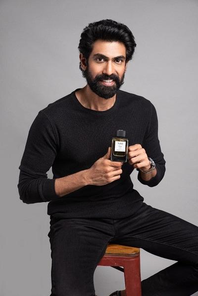 राणा दग्गुबाती ने फ्लैगशिप परफ्यूम ''रॉ एंड बोल्ड'' और ''इंटेंस'' लॉन्च किए।