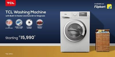 टीसीएल ने वॉशिंग मशीन की अपनी नई रेंज लॉन्च की