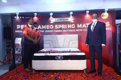 Peps Industries launches India''s first jersey mattress pep cameo