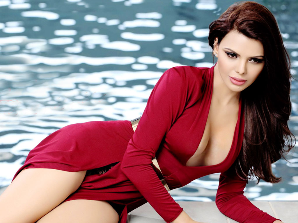 sherlyn chopra looking hot